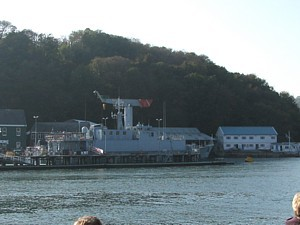 Former HMS Cromer at Dartmouth