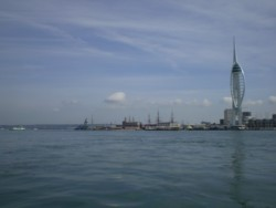 Back in Portsmouth Harbour