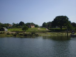 Buckler's Hard from the River