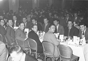 RN Divers' Dinner at Kimbells Ballroom, Southsea c.1960