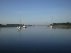 Flat Calm on the Beaulieu River