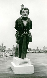 HMS Vernon Figurehead Feb 1957