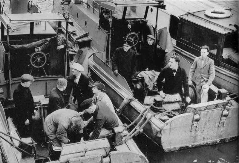 Morrison Shelter Ww2. HMS Vernon Picket Boats in WW