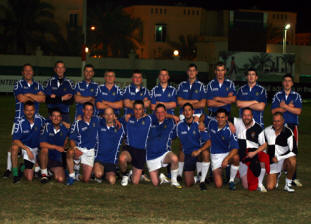 HMS Pembroke & HMS Atherstone combined rugby team