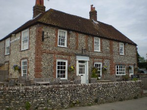 Exterior of Hare & Hounds at Stoughton