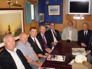 TCA members in Wardroom