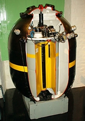 UK M Mk1 moored magnetic mine