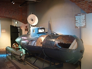 Welman 'W48' at the Marinemuséet, Horten in Norway